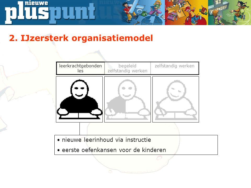 begeleid zelfstandig werken zelfstandig werken nieuwe leerinhoud via instructie eerste oefenkansen voor de kinderen 2.