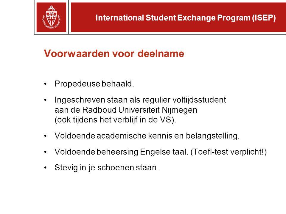 Nederlandse student krijgt in de VS: Vrijstelling van collegegeld.