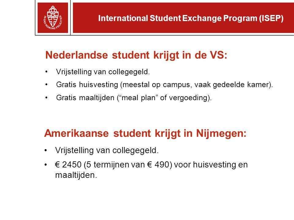 Wat betaalt de universiteit.Kostenbedrag membership fee$ 1000per jaar placement fee$ 315 p.p.