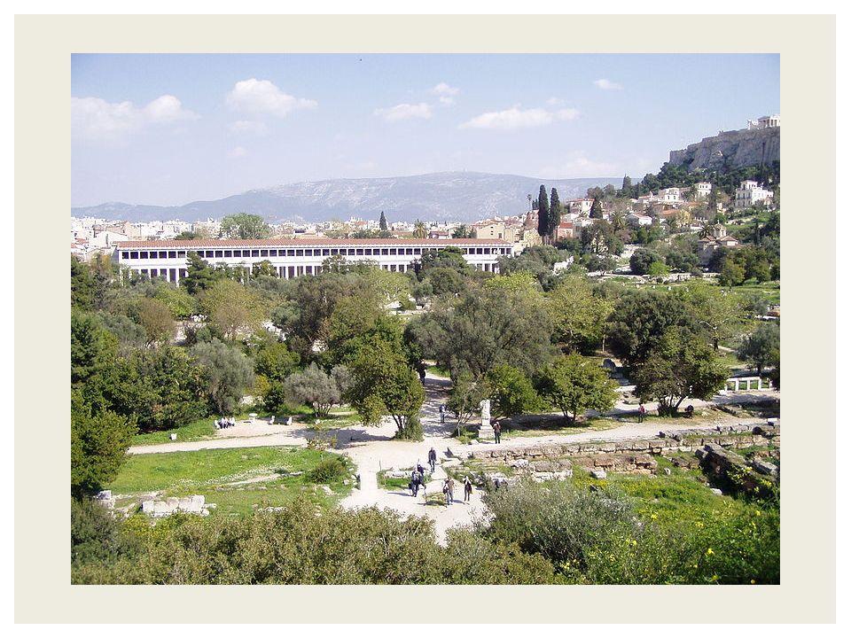  In de vrije Atheense samenleving ontwikkeling van wetenschap en filosofie  6 de eeuw v.c.