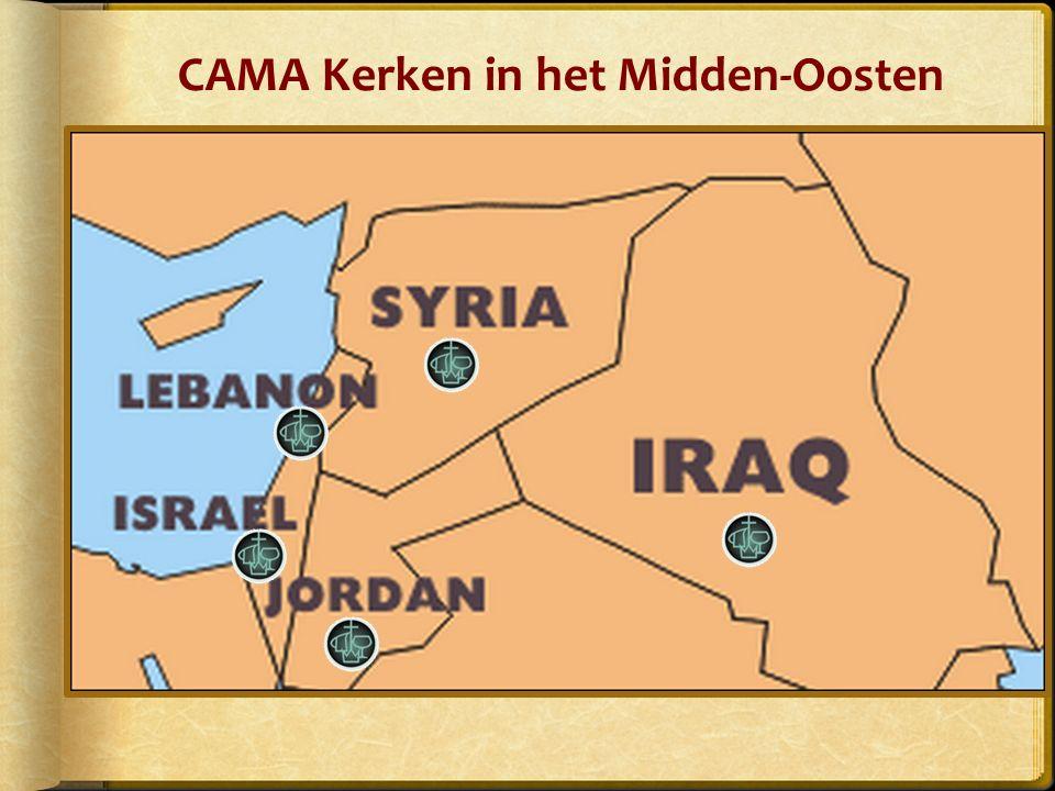 CAMA Kerken in het Midden-Oosten