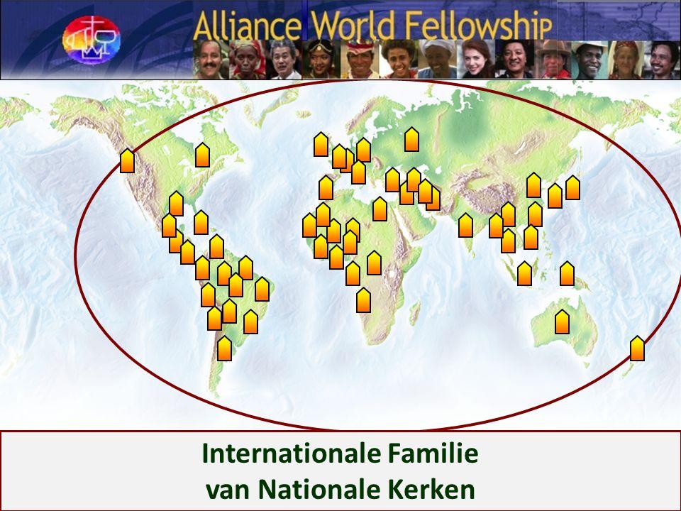 Internationale Familie van Nationale Kerken