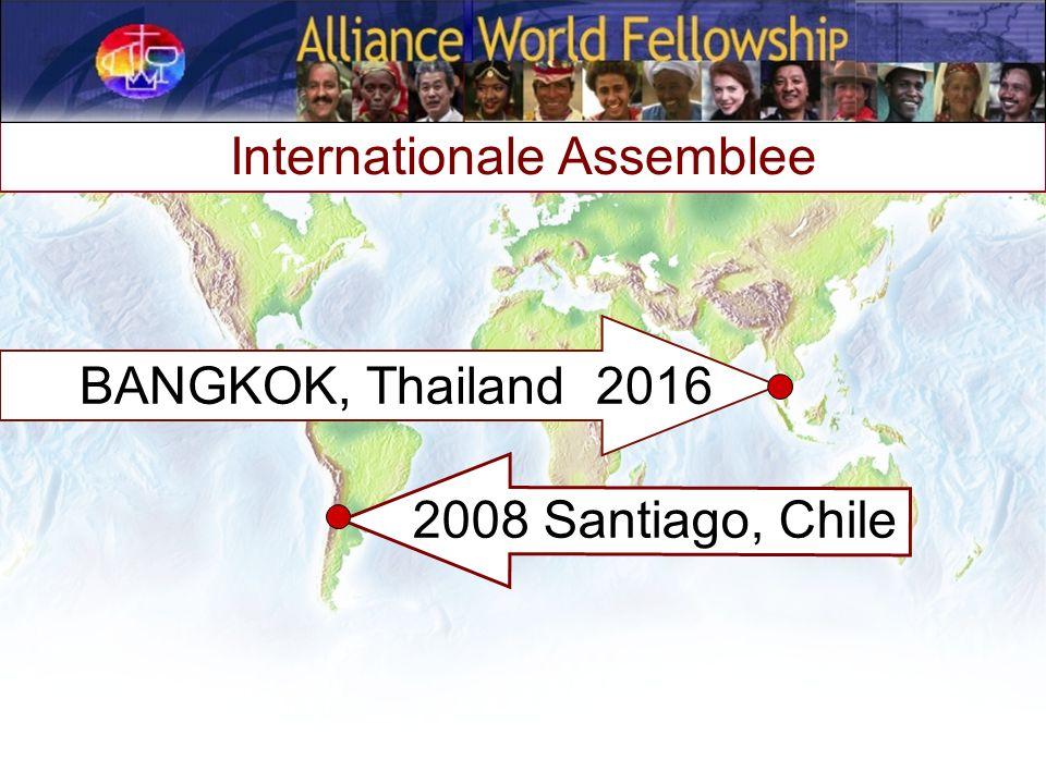 2008 Santiago, Chile Internationale Assemblee BANGKOK, Thailand 2016