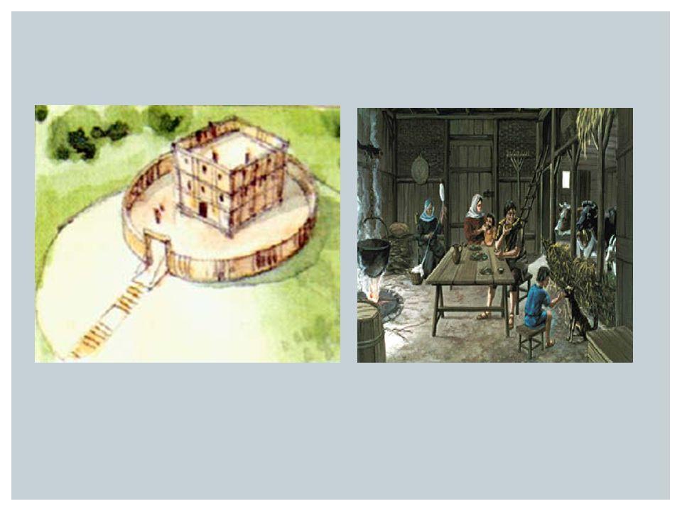  In de vroege middeleeuwen was de samenleving verdeeld in standen STANDENMAATSCHAPPIJ Geestelijkheid (hoog en laag) Adel (hoog en laag) Boeren: Vrije boeren Horigen Lijfeigenen 1 2 3