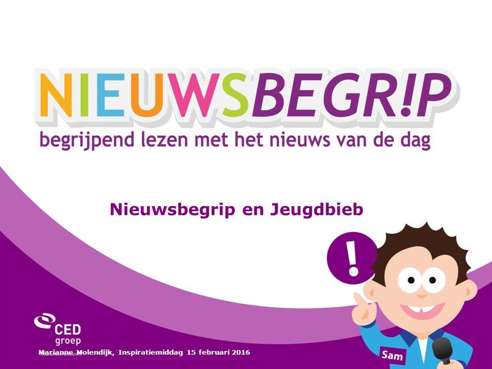 Nieuwsbegrip en Jeugdbieb Marianne Molendijk, Inspiratiemiddag 15 februari 2016