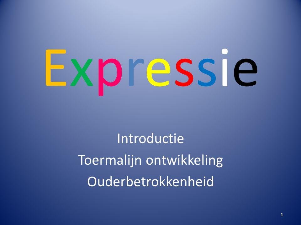 ExpressieExpressie Introductie Toermalijn ontwikkeling Ouderbetrokkenheid 1
