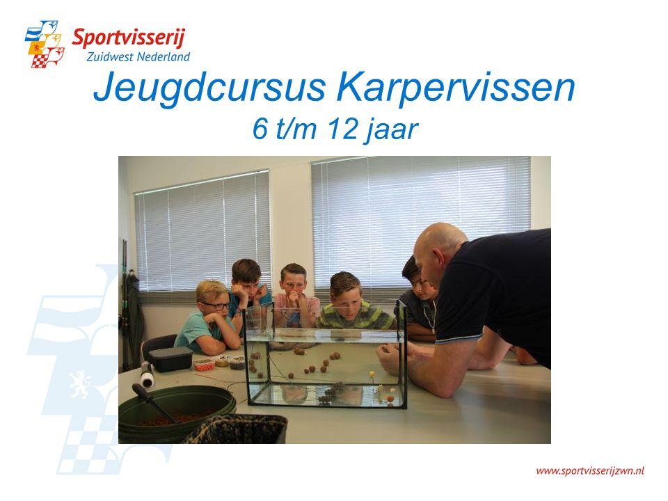 Jeugdcursus Karpervissen 6 t/m 12 jaar