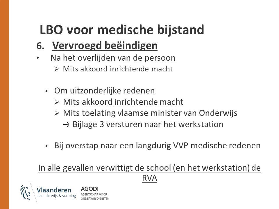 LBO voor medische bijstand 6.