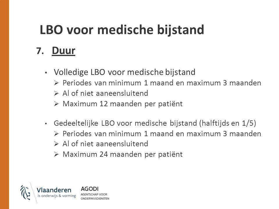 LBO voor medische bijstand 7.
