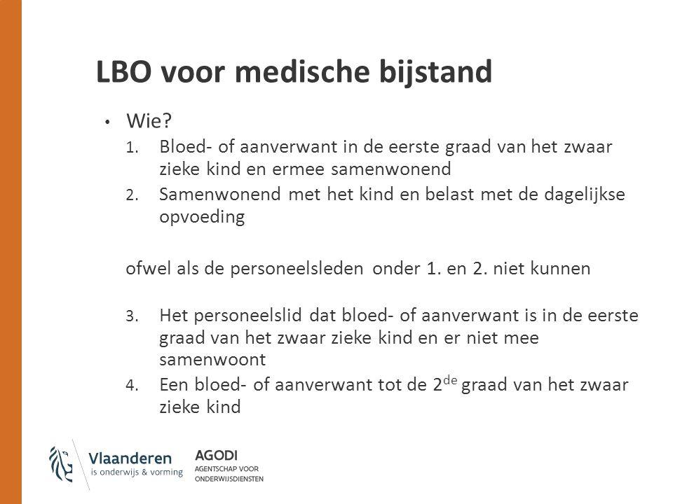 LBO voor medische bijstand Wie.1.