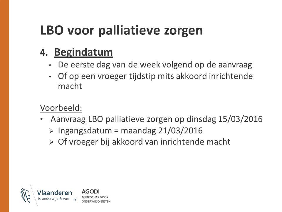 LBO voor palliatieve zorgen 4.