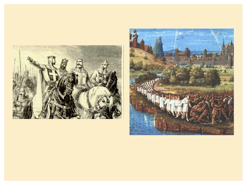  Van de 11 e tot de 13 e eeuw 7 officiële kruistochten  Na 1291 geen aanwezigheid meer van kruistochtridders ANDERE KRUISTOCHTEN