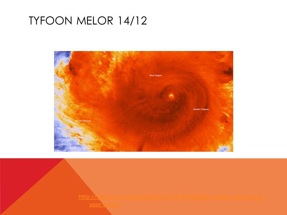 TYFOON MELOR 14/12 http://nieuws.vtm.be/buitenland/170699-filipijnen-zetten-zich-schrap- voor-tyfoon