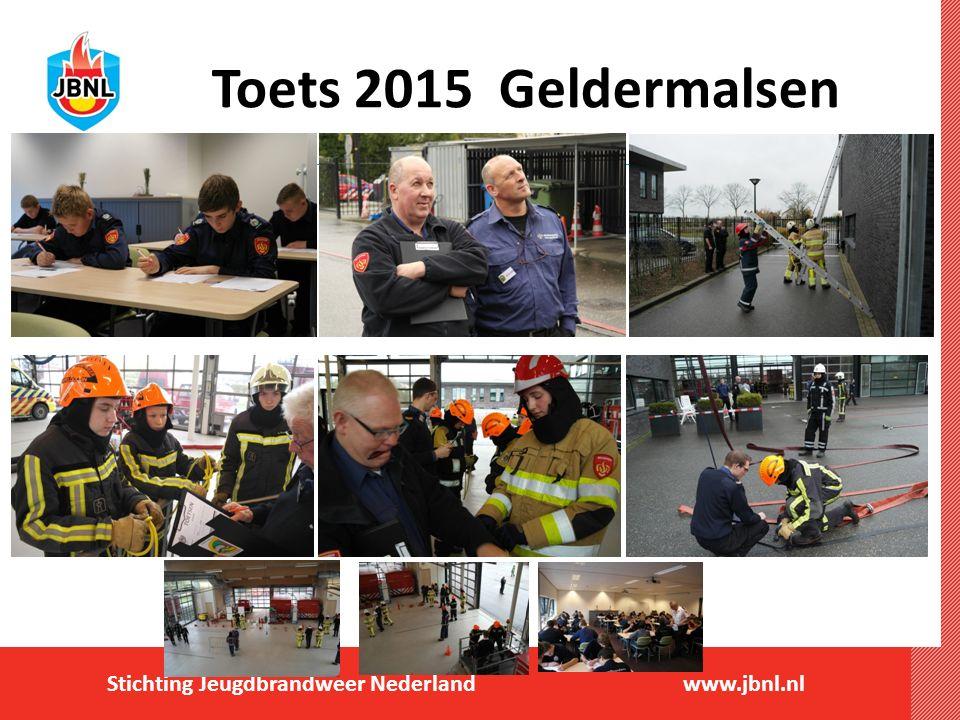 Stichting Jeugdbrandweer Nederlandwww.jbnl.nl Toets 2015 Geldermalsen