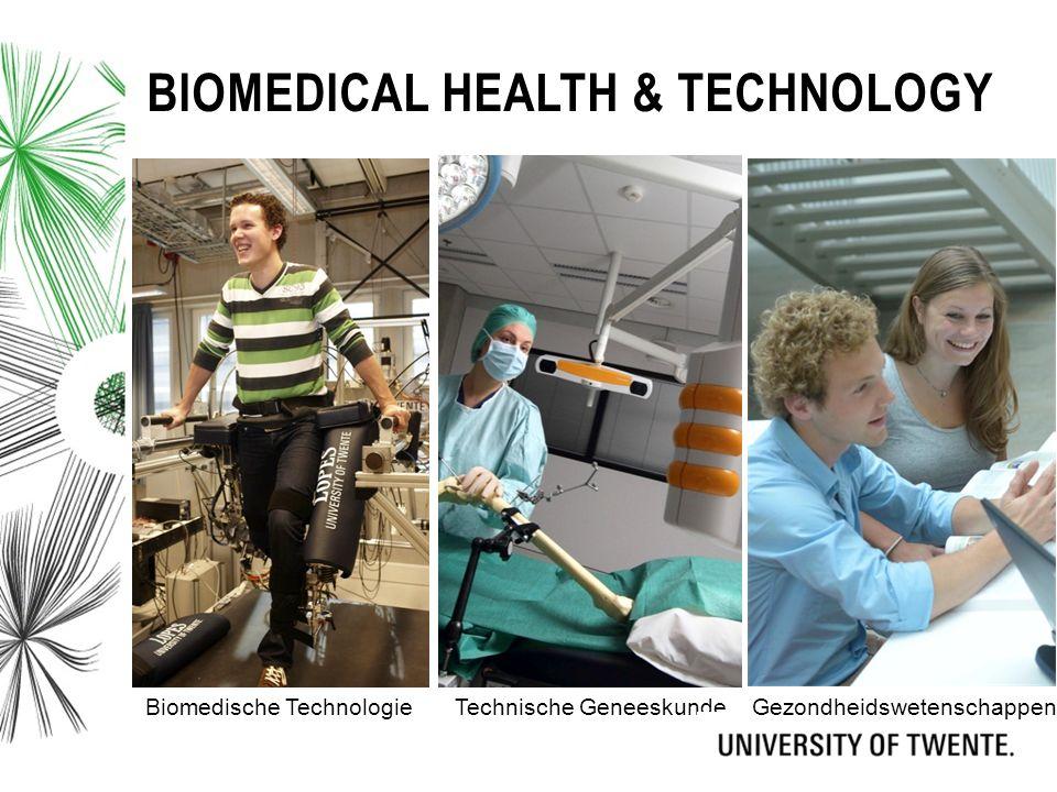 BIOMEDICAL HEALTH & TECHNOLOGY Biomedische TechnologieTechnische GeneeskundeGezondheidswetenschappen