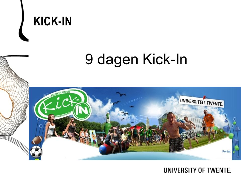 KICK-IN 9 dagen Kick-In