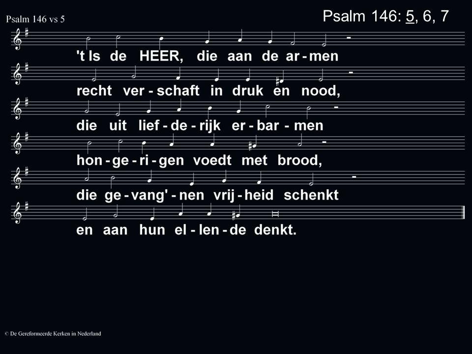 Psalm 146: 5, 6, 7