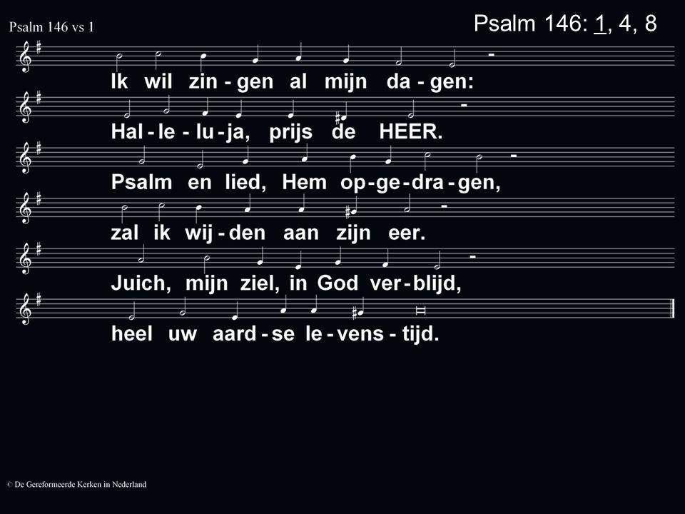 Psalm 146: 1, 4, 8