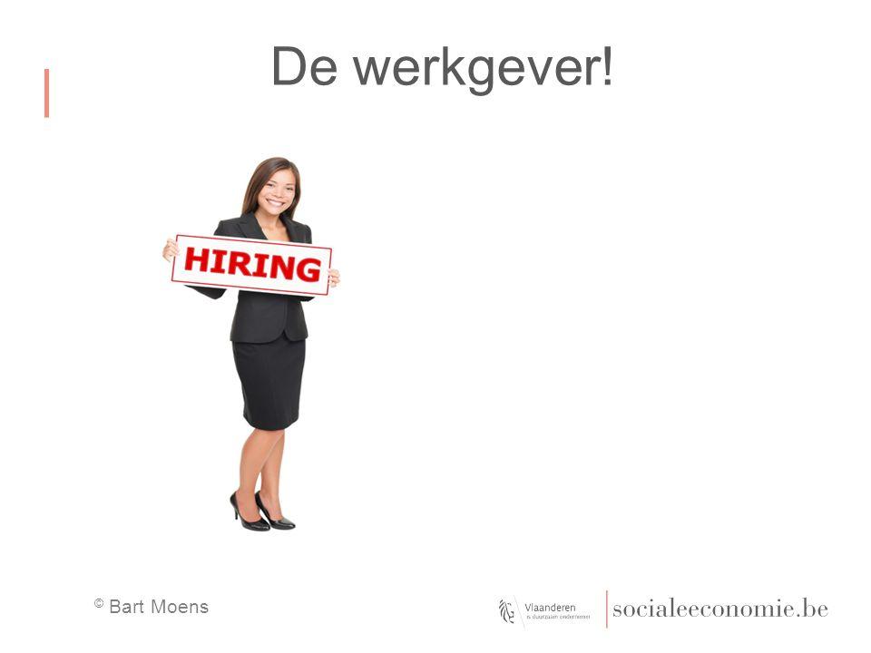De werkgever!