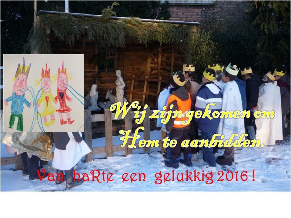 Van haRte een gelukkig 2016 !