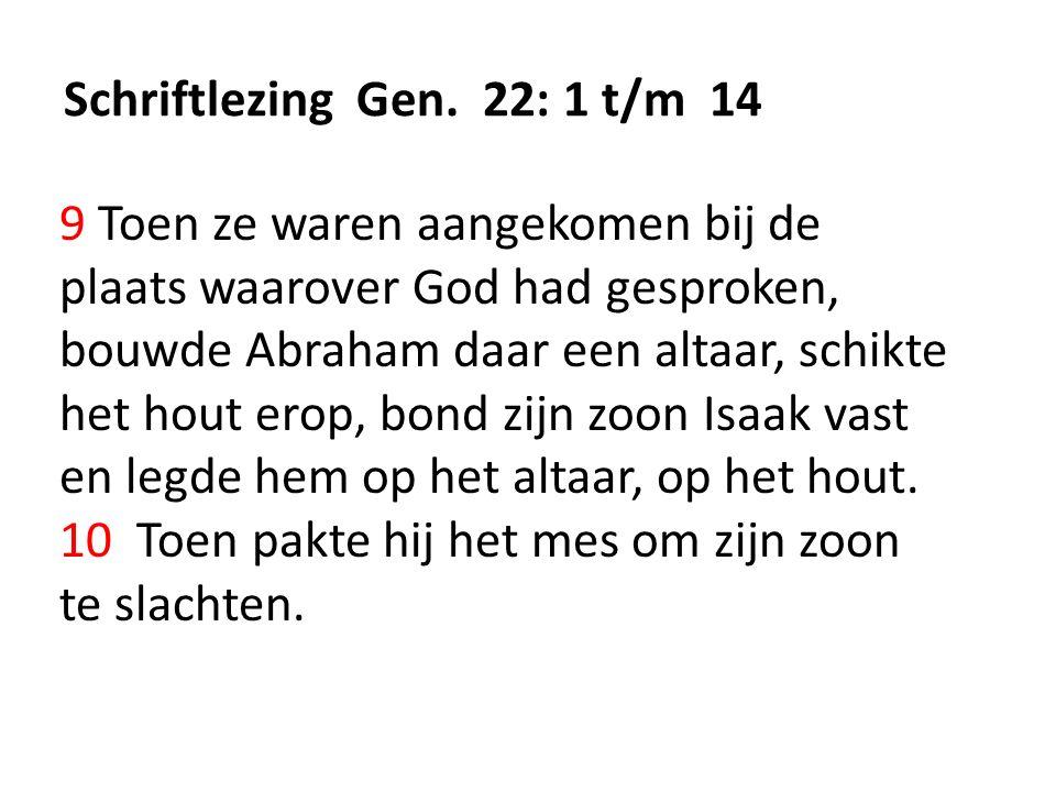 Schriftlezing Gen.