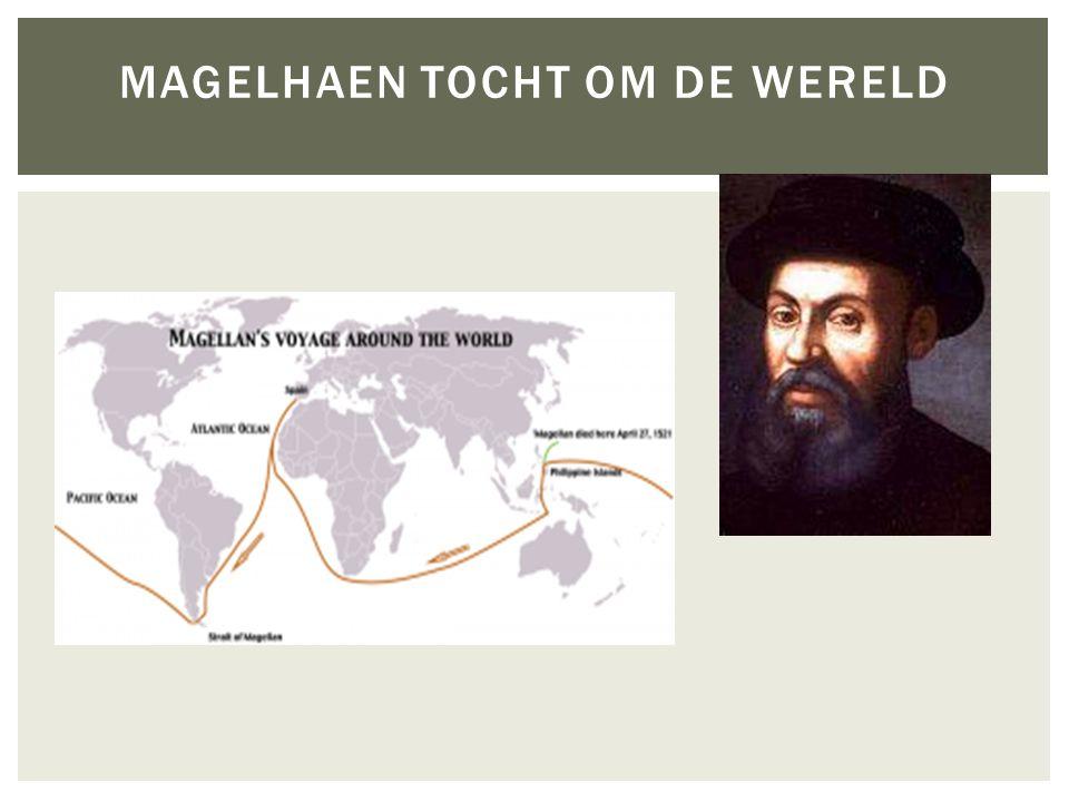 MAGELHAEN TOCHT OM DE WERELD