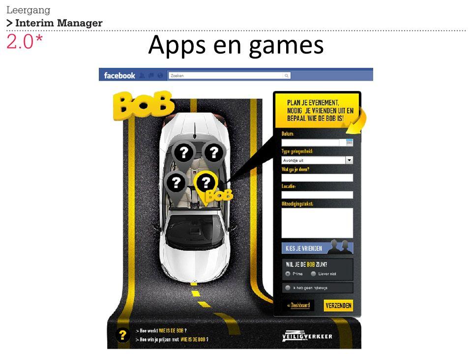 Apps en games