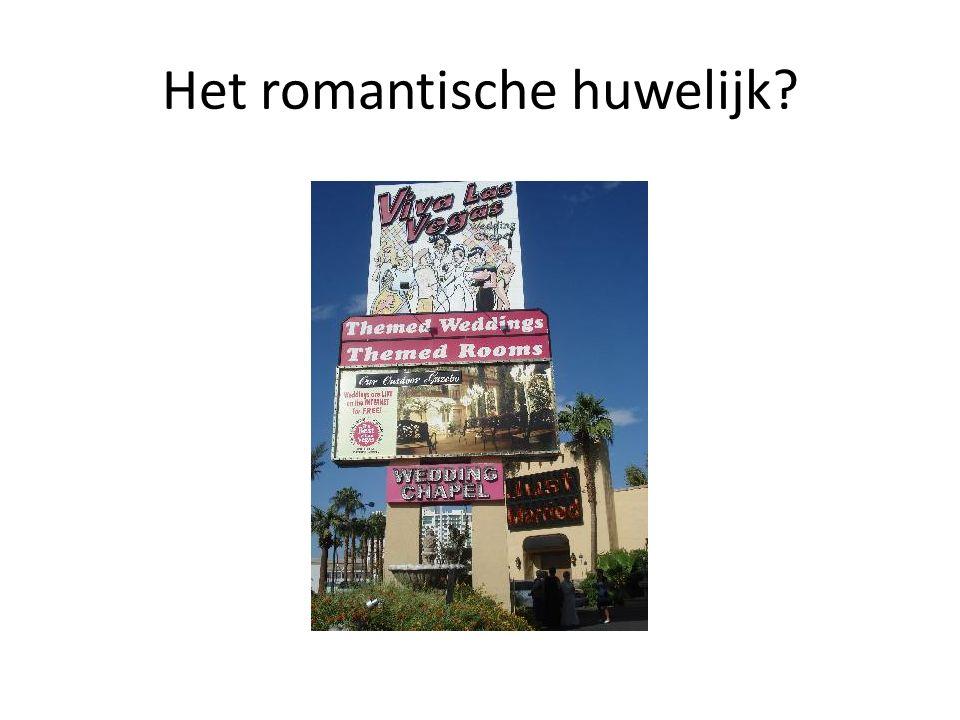 Het romantische huwelijk?