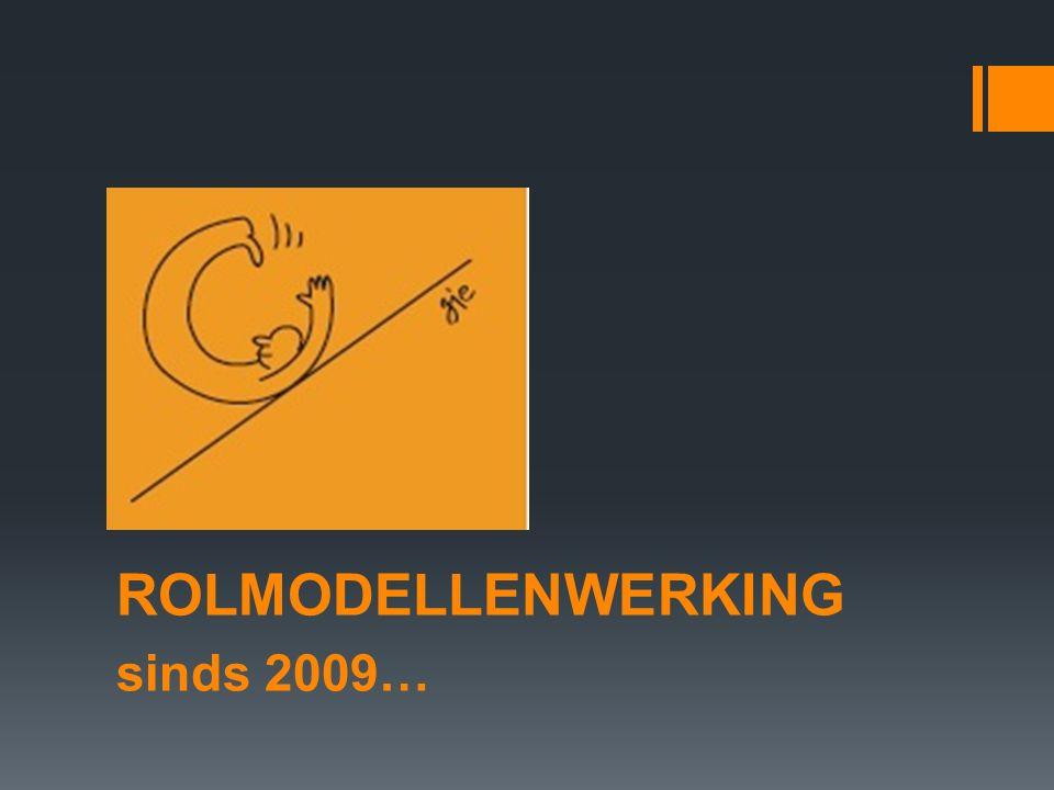 ROLMODELLENWERKING sinds 2009…