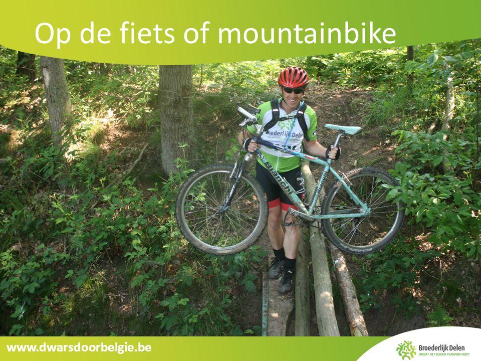www.dwarsdoorbelgie.be Dwars door België