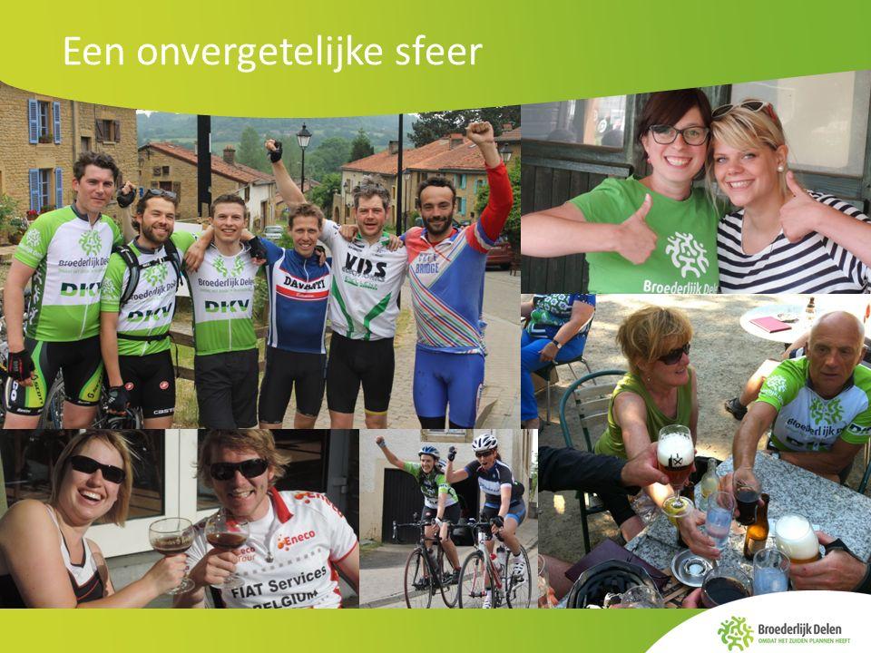 www.dwarsdoorbelgie.be Fietsen met een doel Elke deelnemer engageert zich om minstens 500 euro in te zamelen.