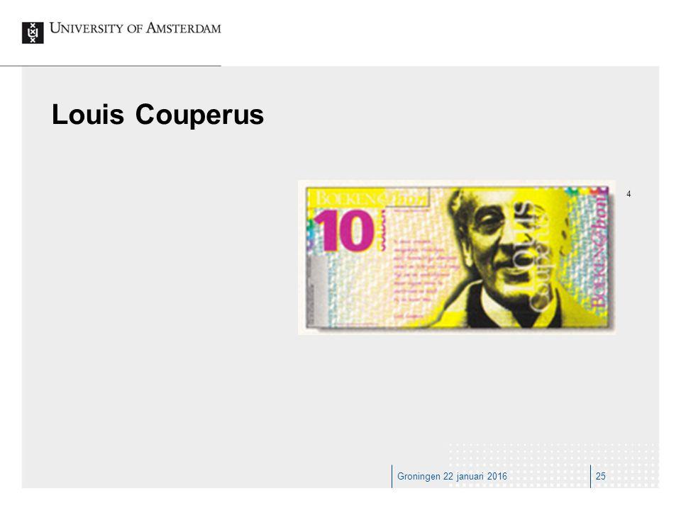 Groningen 22 januari 201625 Louis Couperus 4