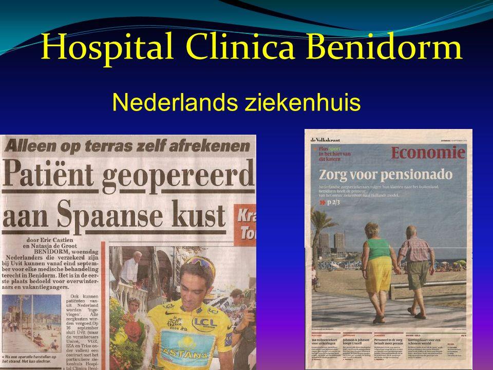 Hospital Clinica Benidorm Nederlands ziekenhuis