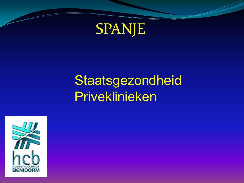 SPANJE Staatsgezondheid Priveklinieken