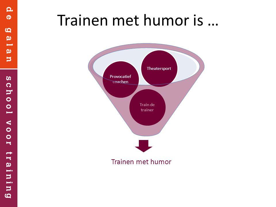 Met een lach uit de stress Wanneer is het grappig.