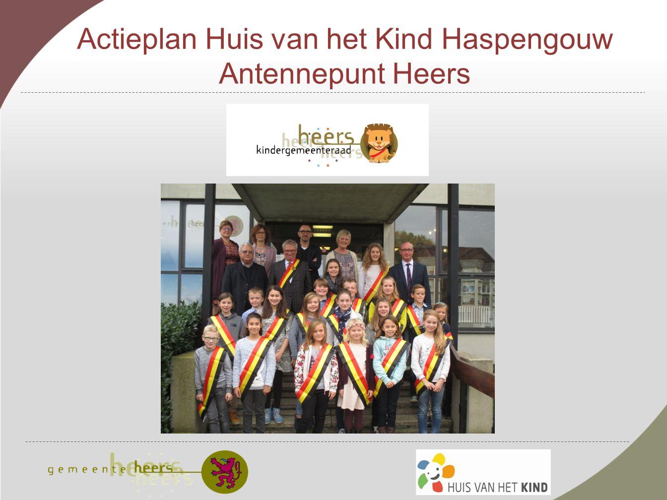 Actieplan Huis van het Kind Haspengouw Antennepunt Heers
