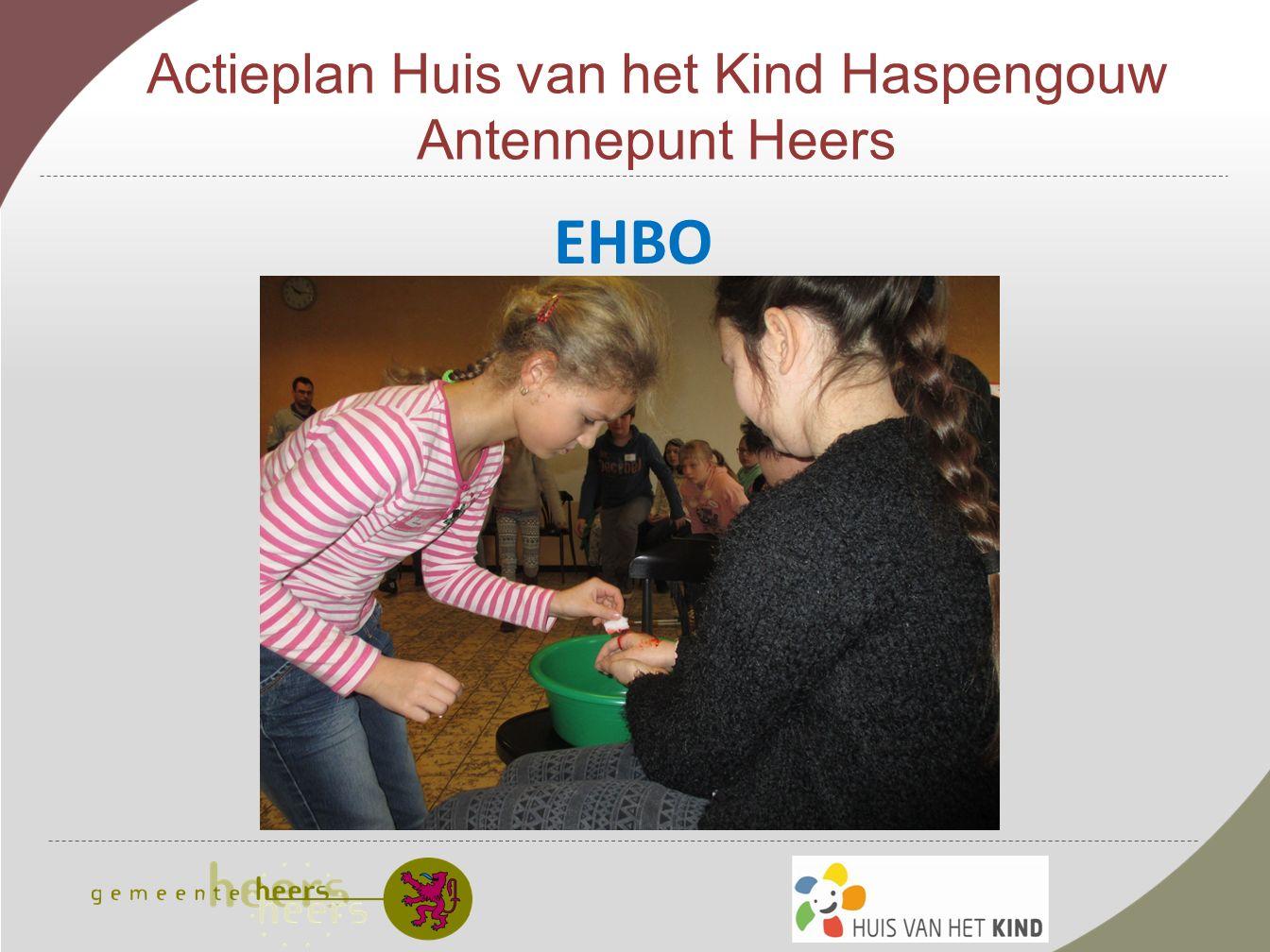 Actieplan Huis van het Kind Haspengouw Antennepunt Heers EHBO