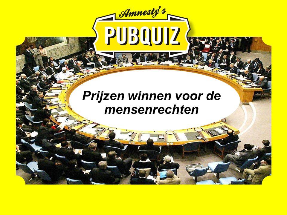 Prijzen winnen voor de mensenrechten