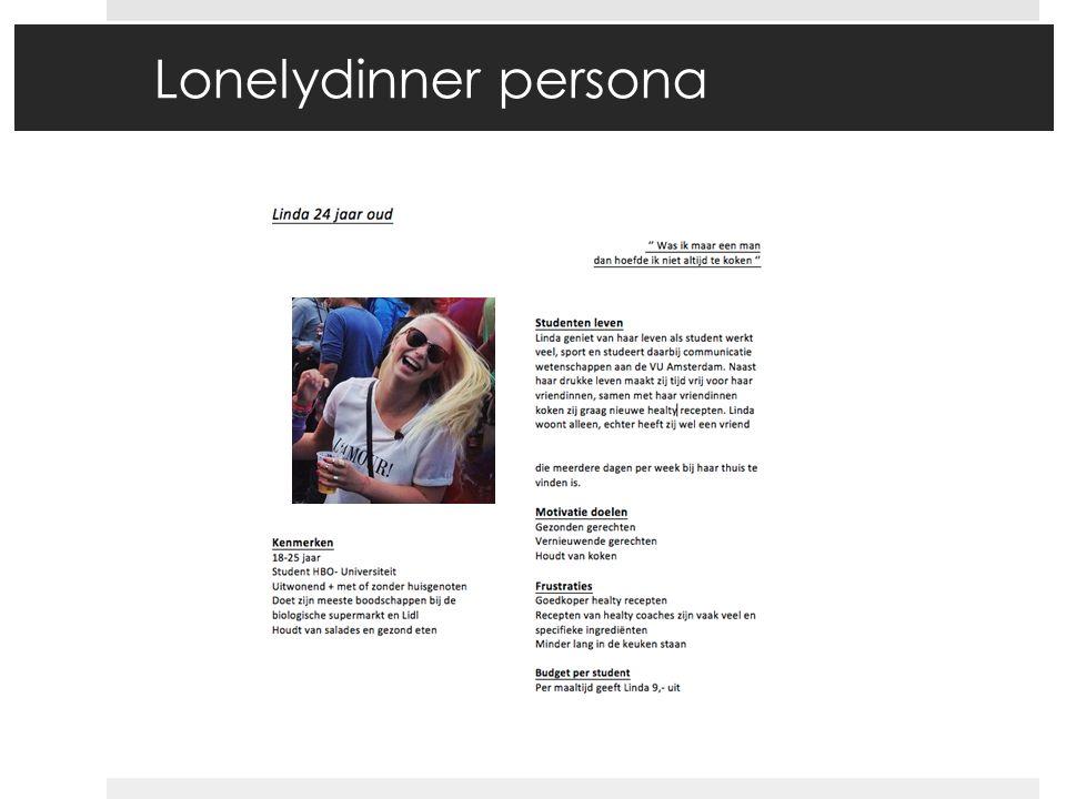 Lonelydinner persona