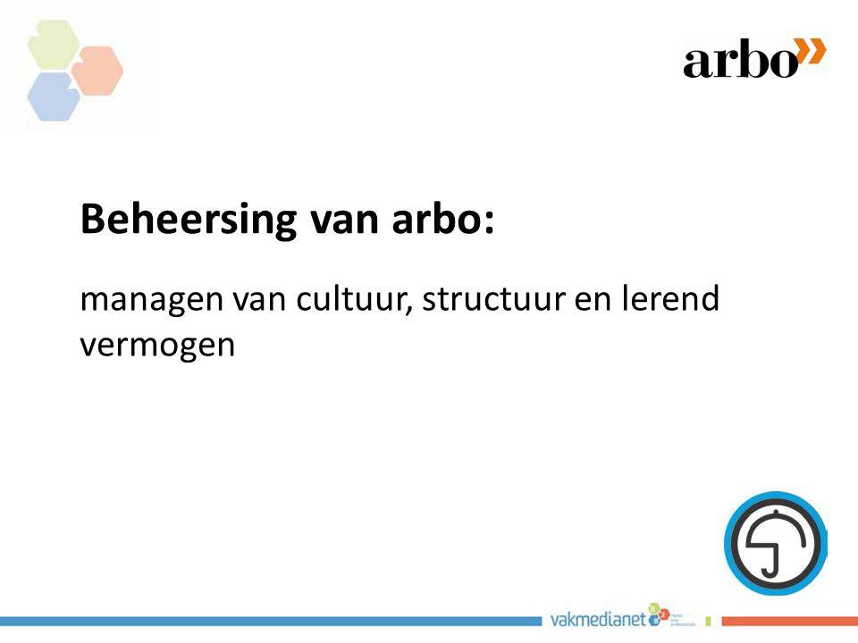 Beheersing van arbo: managen van cultuur, structuur en lerend vermogen