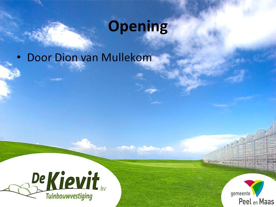 Opening Door Dion van Mullekom