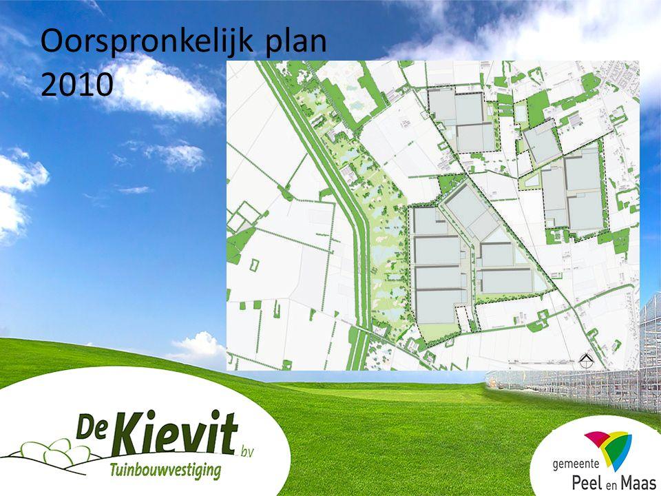 Oorspronkelijk plan 2010