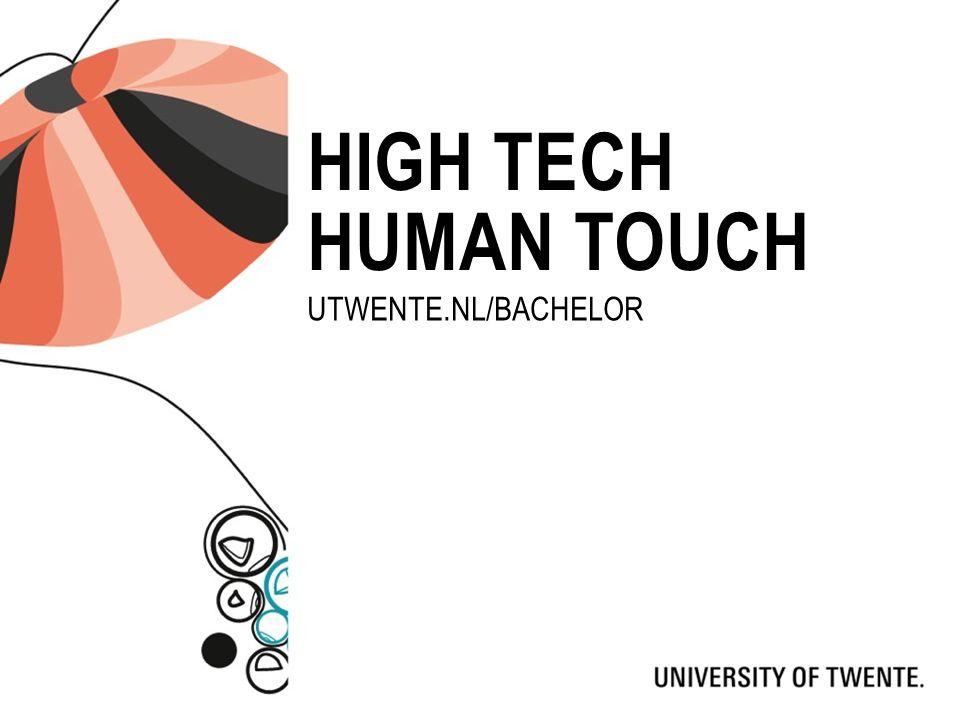 STUDIES Advanced TechnologyTechnische GeneeskundeCreative Technology