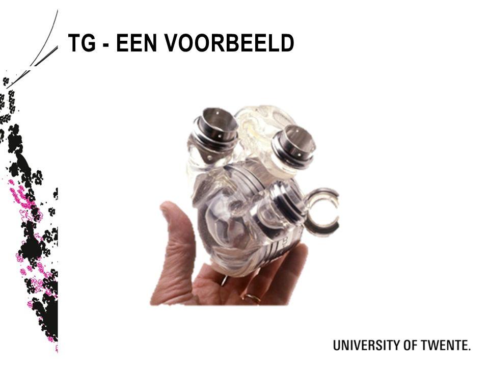 TG - EEN VOORBEELD