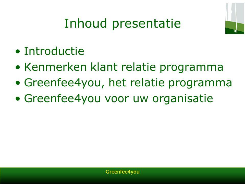 Greenfee4you Introductie Freality is een innovatie business development organisatie.