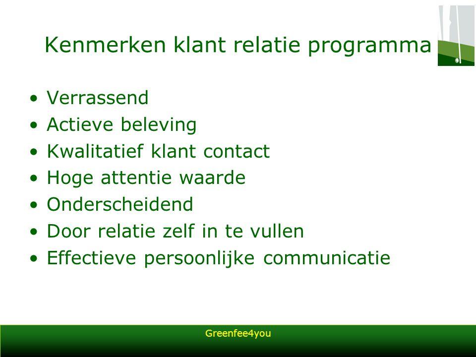 Greenfee4you U bent wilt meer weten wat Greenfee4you voor u kan betekenen Dan kunt u contact met ons opnemen via –Telefoon: 079-3630138 –E-mail:organisaties@greenfee4you.nl