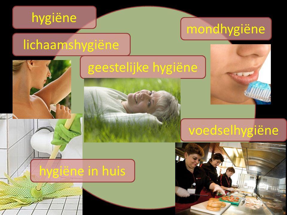hygiëne lichaamshygiëne mondhygiëne voedselhygiëne hygiëne in huis geestelijke hygiëne