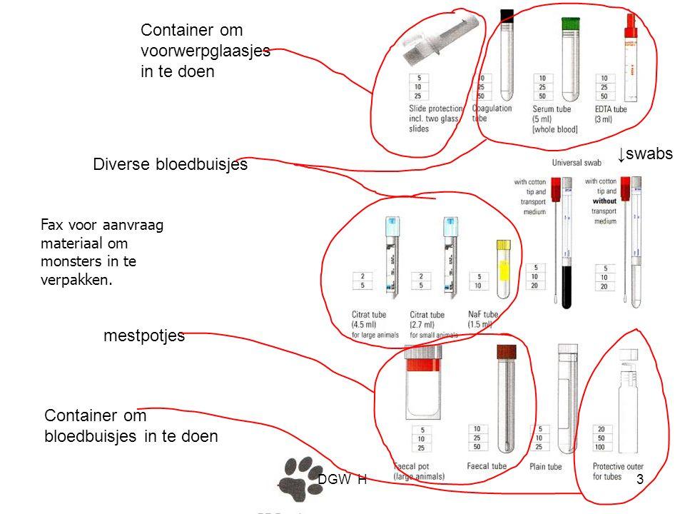 Handleiding verpakken cytologie DGW H24
