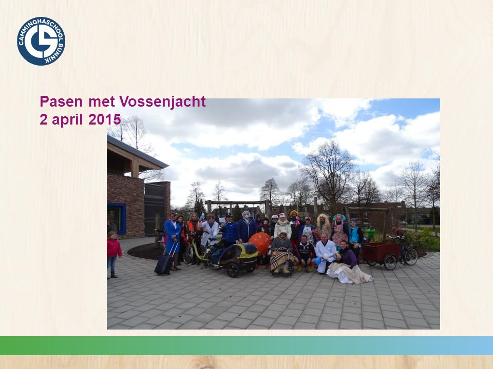 Pasen met Vossenjacht 2 april 2015
