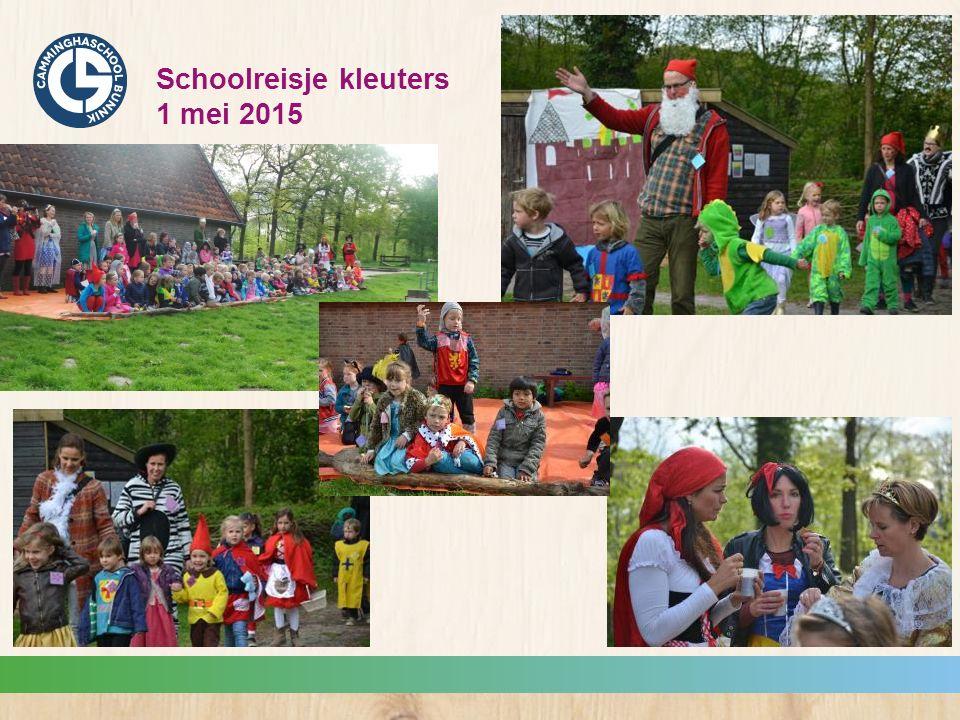 Schoolreisje kleuters 1 mei 2015
